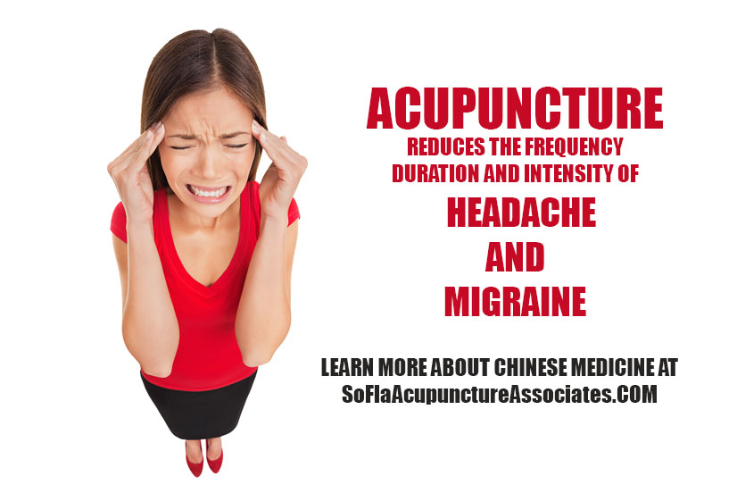 Acupuncture for Headache and Migraine in Parkland Florida